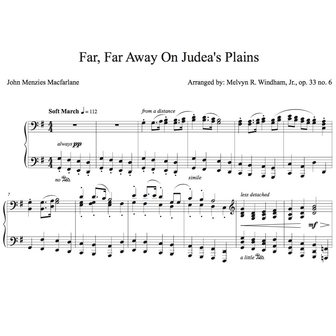 plain piano sheet music