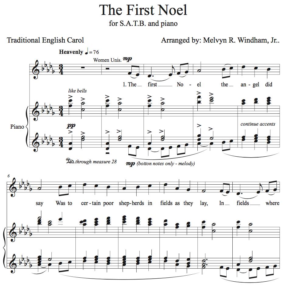 Chorus of a song
